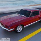 1967 Mustang Renderings.